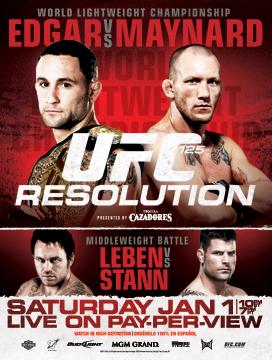 UFC 125 RESOLUTION [2011 г., MMA, HDTV 720p]