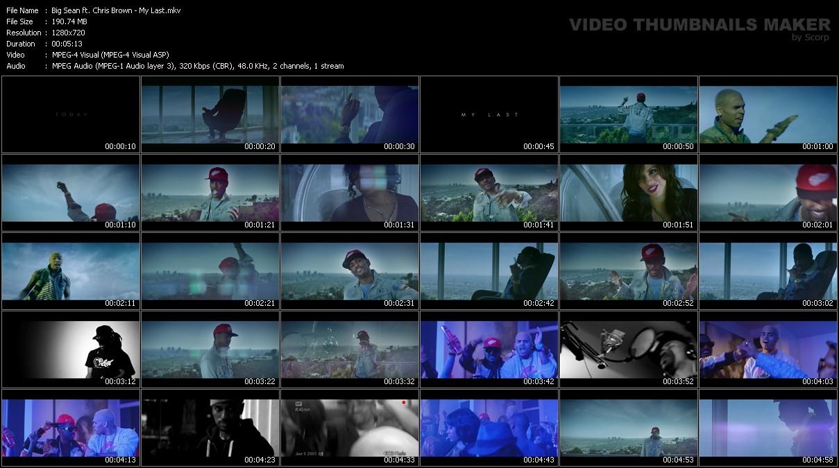 Big Sean ft  Chris Brown - My Last preview 0