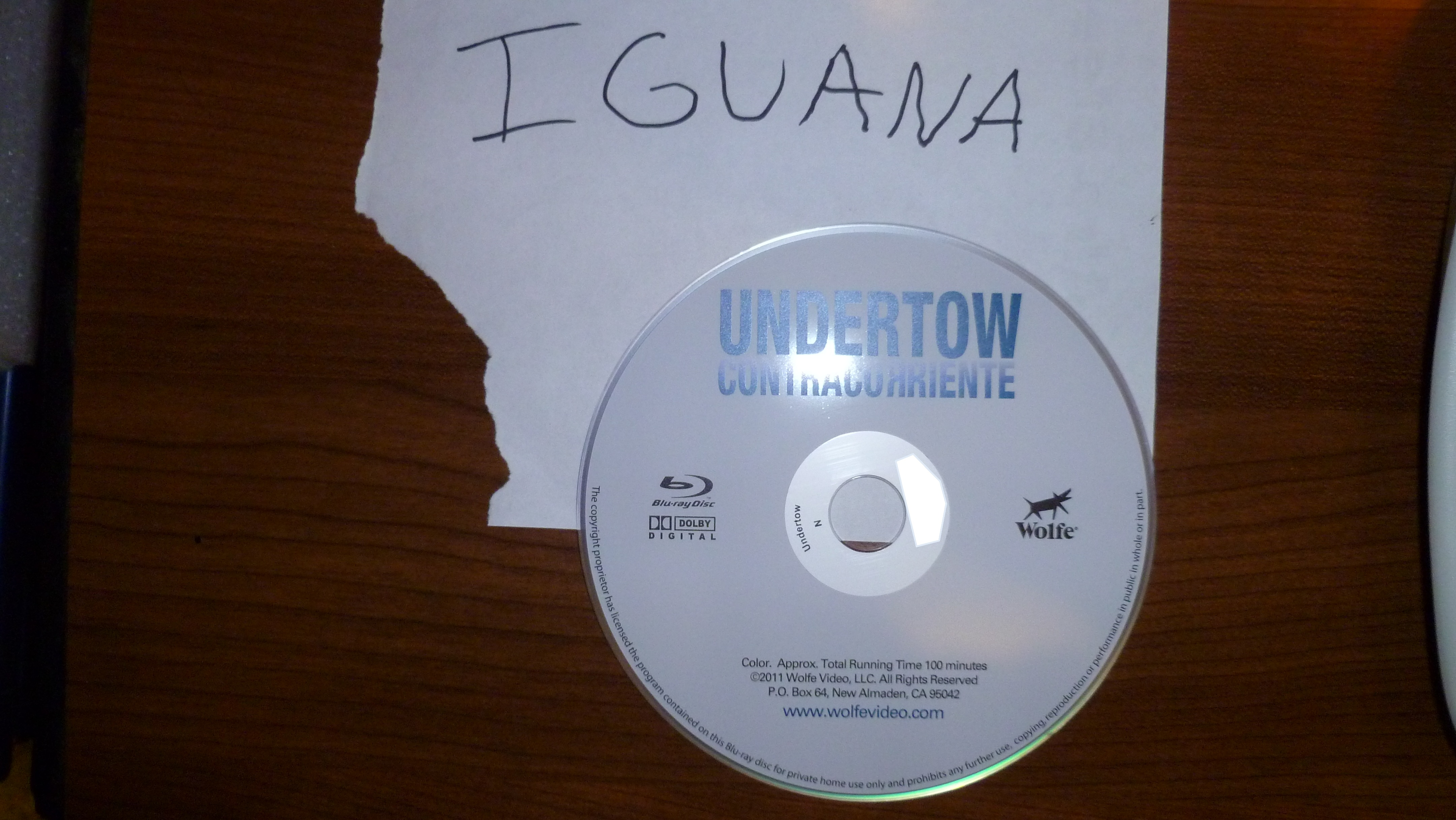 Undertow 2009 SUBBED BDrip XviD-IGUANA