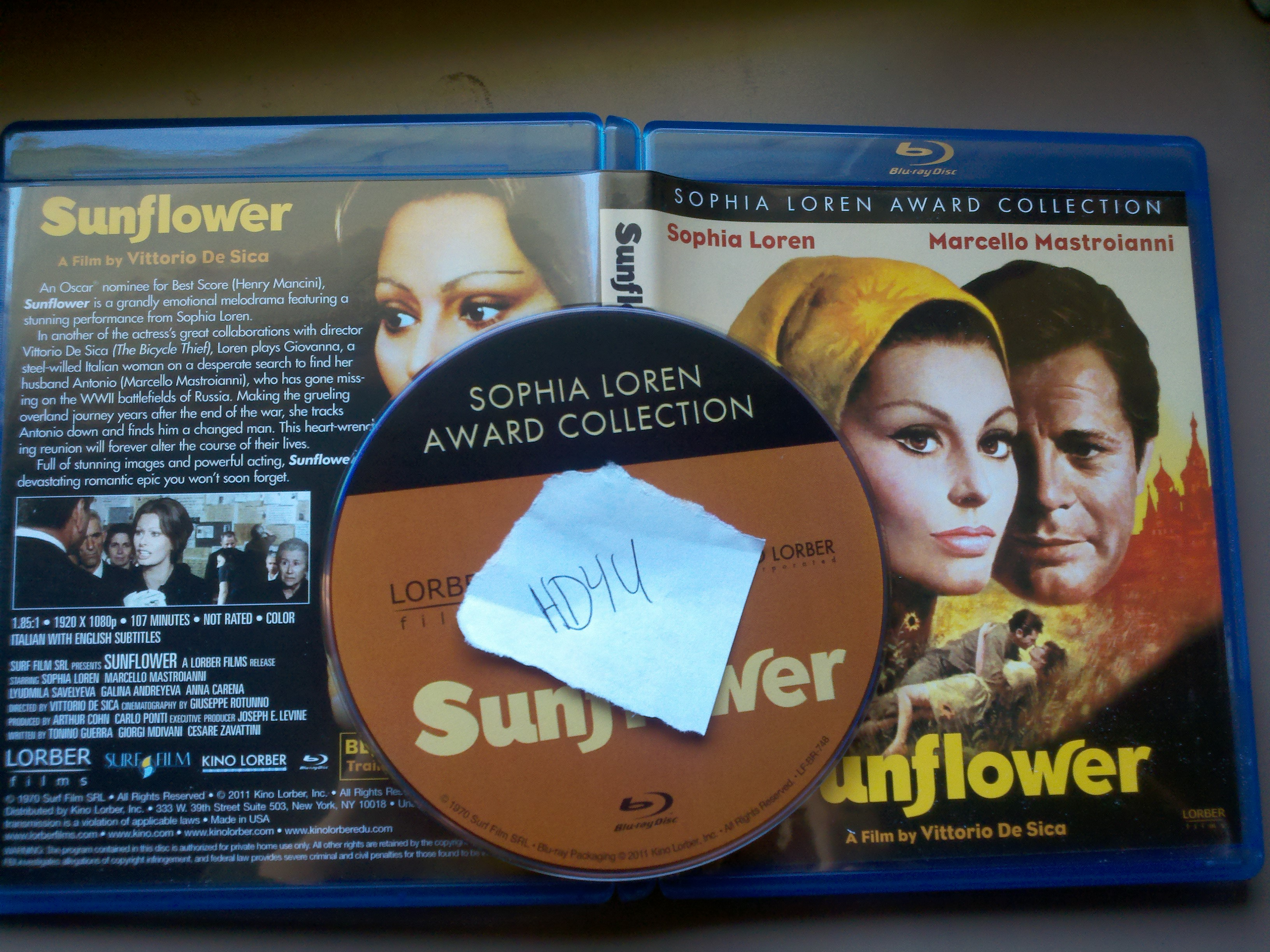 Sunflower 1970 720p BluRay x264-HD4U