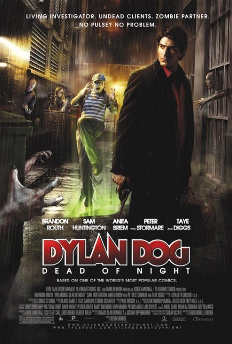 Detektyw mroku / Dylan Dog: Dead of Night (2010) PLSUBBED DVDRip XviD AC3-TRODAT / Napisy PL