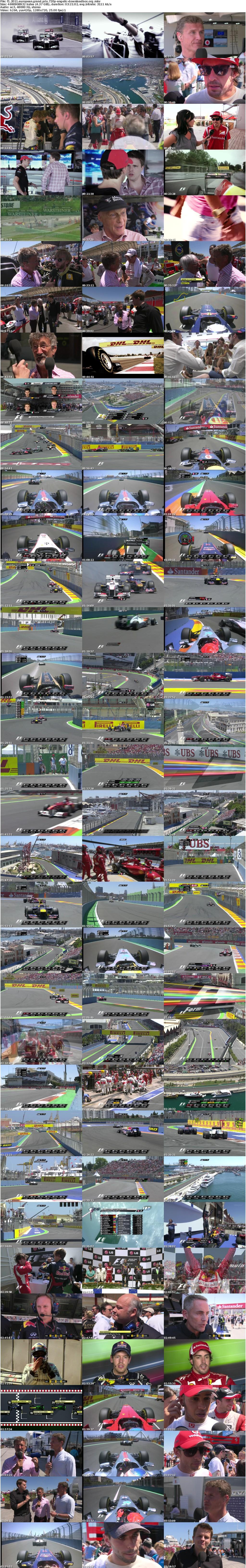 Formula1 2011 European Grand Prix 720p HDTV x264-ANGELiC