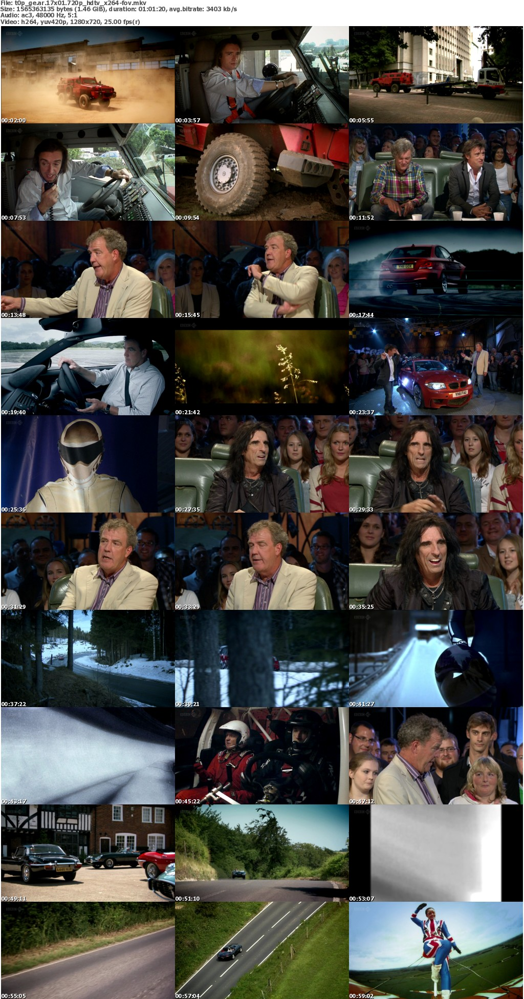 Top Gear 17x01 720p HDTV x264-FoV