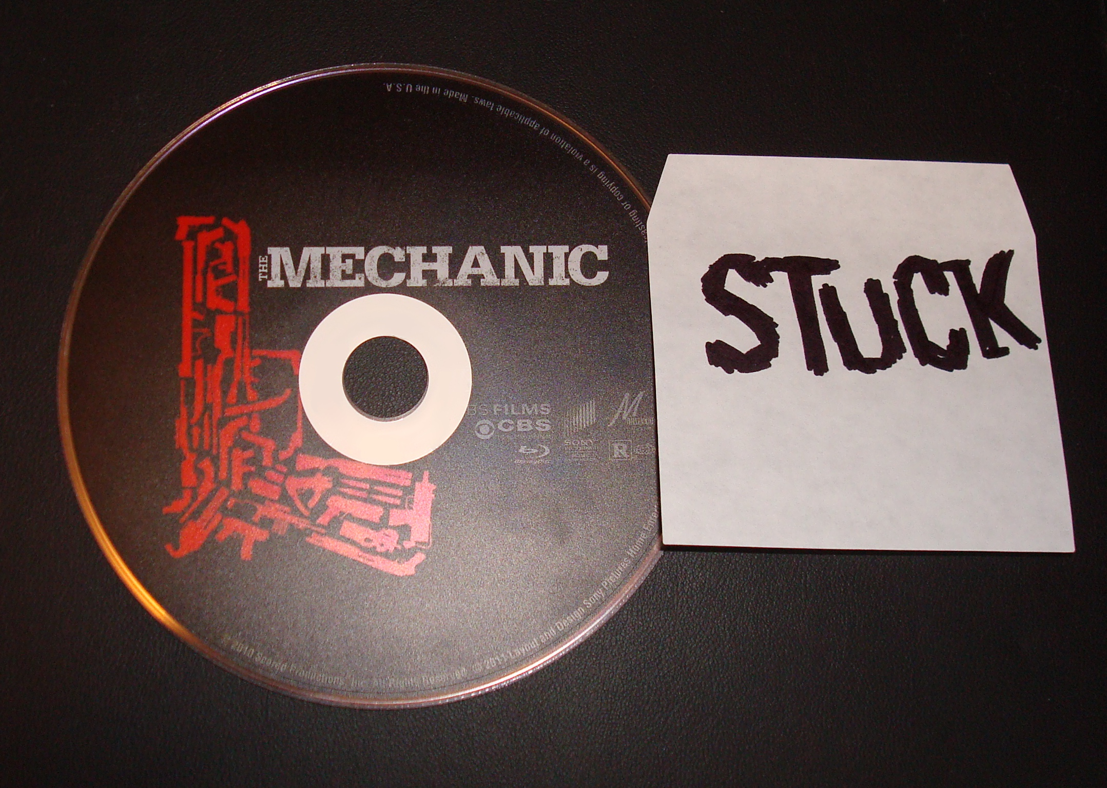 The Mechanic 2011 EXTRAS 720p/1080p Bluray x264-STUCK