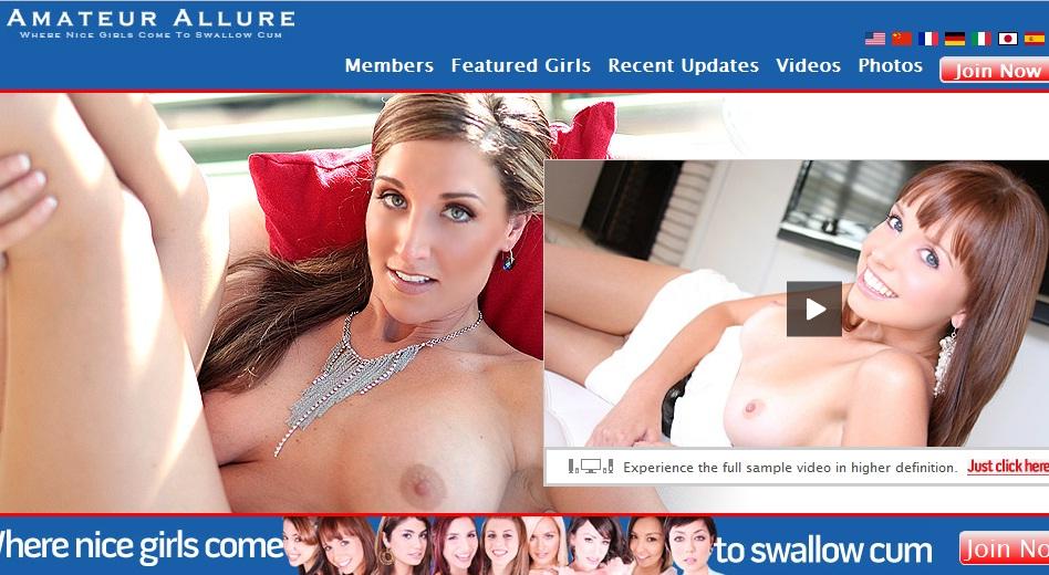 AmateurAllure.com - SiteRip. Format: mpg/wmv/avi. Total Size: 27.4 GB