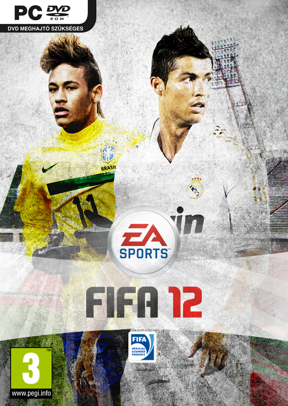 Fifa 12 cover by dawenine25 Fifa12cover