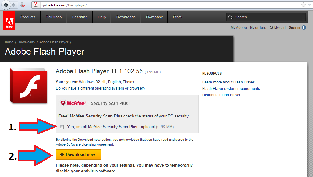 flashplayer download